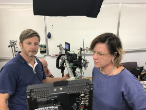 •The Human Trial Production Still (10.14.2017) Directors Lisa Hepner and Guy Mossman at ViaCyte Innovation Alley